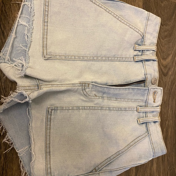 Cargo style Jean shorts- size 2